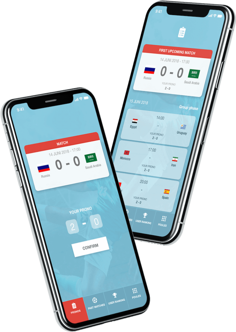 Bewire prono iphone app